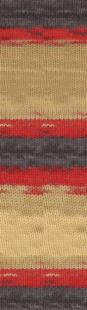 7390 серый/красный/песочный