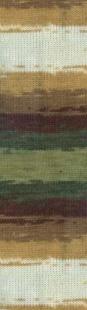 3344 м. белый/зеленый/коричн.