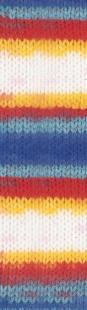 2681 м. белый/синий/красный