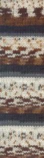 3414 м.коричневый/серый