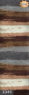 3341 м. коричневый/бежевый/серый