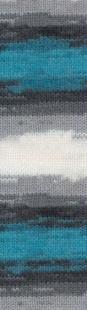 4200 серый/белый/бирюза
