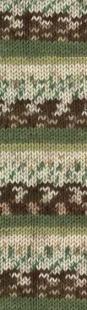 1674 м. зелёно-коричневый