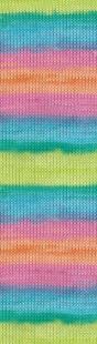 4151 бирюза-зелёный-малина