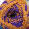 1028 фиолетово-рыжий меланж