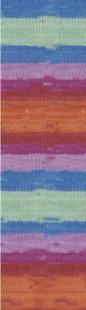 4516 рыж/мят/т.голуб/сирень