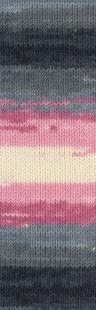 1602 м. розовый/серый/ белый