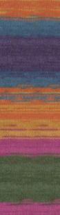 1560 м. терракот/сиреневый/фиолетовый