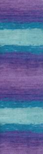 3927 м. бирюза/фиолетовый